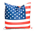 Stars and Stripes Photo Cushion