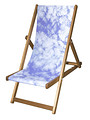Clouds Designer Deckchair