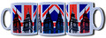 Big Ben Union Jack Popart printed Mug
