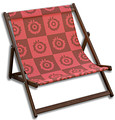 Popart Red Sunflower, Wideboy Deckchair