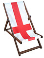 England Deckchair St. George's Cross