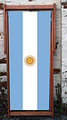 Sun of May flag of Argentina Designer Deckchair
