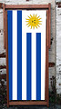 Sun of May flay for Uruguay design deckchair