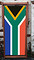 South Africa Flag - Designer Deckchair