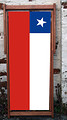 Chile National Flag Designer Deckchair