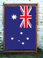 Australian National flag World Cup Designer Wideboy Dekchair