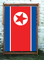 North Korea Designer Wideboy Deckchair