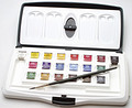 Artists' Watercolour Box 20 Half Pan Slider Set