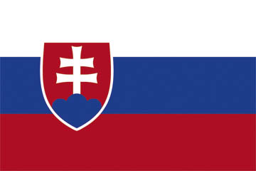 National Flag of Slovakia - World Cup deckchair designs