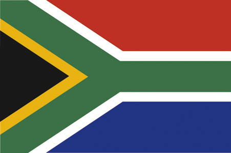 South Africa Flag - World Cup deckchair designs