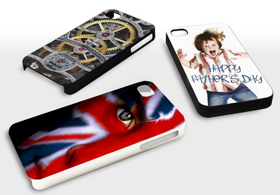 printed iphone cover personalised with photo's