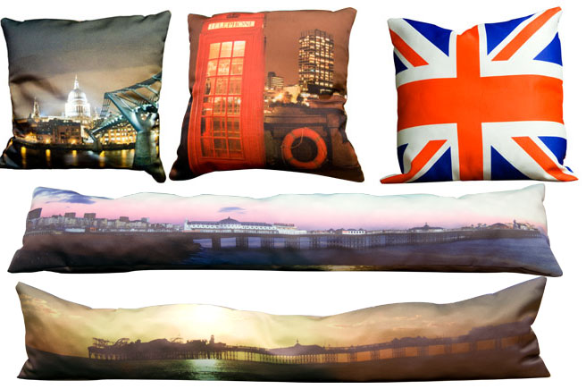 personalised printed photo cushions
